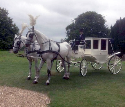 Wedding transport at St Johns